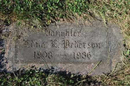 PEDERSON, EDNA E. - Cass County, North Dakota | EDNA E. PEDERSON - North Dakota Gravestone Photos