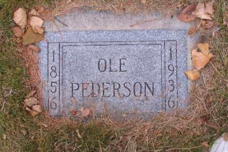 PEDERSON, OLE - Cass County, North Dakota | OLE PEDERSON - North Dakota Gravestone Photos