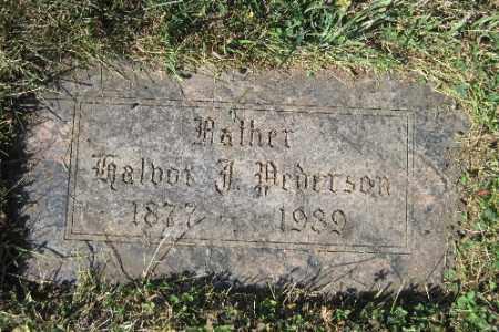 PEDERSON, TALBOT - Cass County, North Dakota   TALBOT PEDERSON - North Dakota Gravestone Photos
