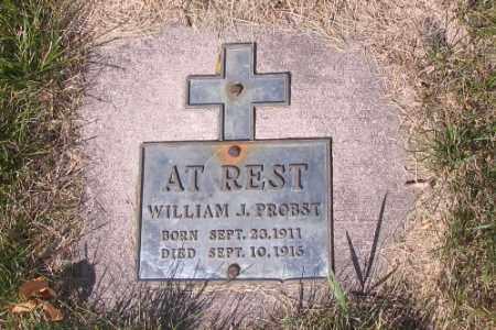 PROBST, WILLIAM J. - Cass County, North Dakota | WILLIAM J. PROBST - North Dakota Gravestone Photos