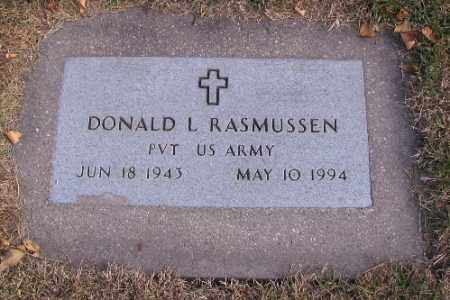RASMUSSEN, DONALD L. - Cass County, North Dakota | DONALD L. RASMUSSEN - North Dakota Gravestone Photos