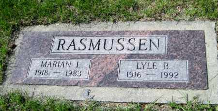 RASMUSSEN, MARIAN I. - Cass County, North Dakota | MARIAN I. RASMUSSEN - North Dakota Gravestone Photos