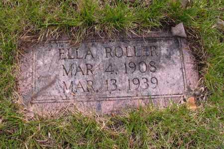 ROLLER, ELLA - Cass County, North Dakota | ELLA ROLLER - North Dakota Gravestone Photos