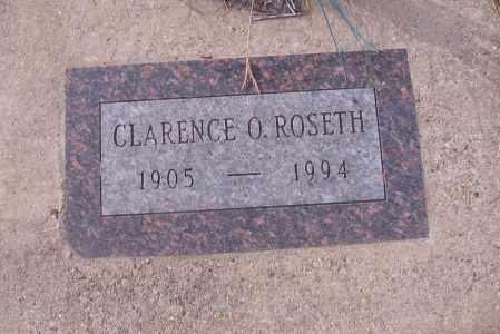 ROSETH, CLARENCE O. - Cass County, North Dakota | CLARENCE O. ROSETH - North Dakota Gravestone Photos