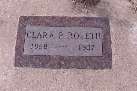 ROSETH, CLARA P. - Cass County, North Dakota | CLARA P. ROSETH - North Dakota Gravestone Photos