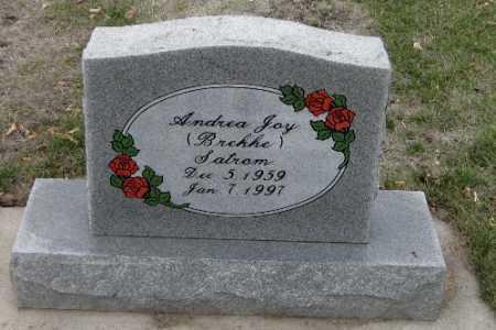 SATROM, ANDREA JOY - Cass County, North Dakota | ANDREA JOY SATROM - North Dakota Gravestone Photos