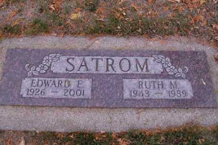 SATROM, RUTH M. - Cass County, North Dakota | RUTH M. SATROM - North Dakota Gravestone Photos