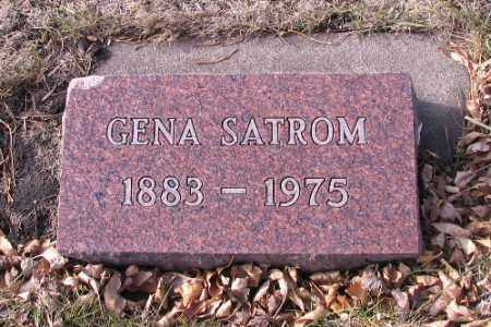 SATROM, GENA - Cass County, North Dakota | GENA SATROM - North Dakota Gravestone Photos