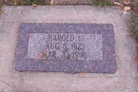 SATROM, HAROLD G. - Cass County, North Dakota | HAROLD G. SATROM - North Dakota Gravestone Photos