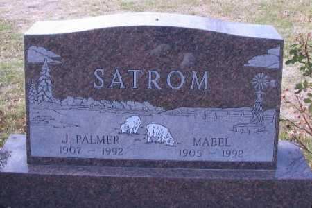 SATROM, J. PALMER - Cass County, North Dakota | J. PALMER SATROM - North Dakota Gravestone Photos