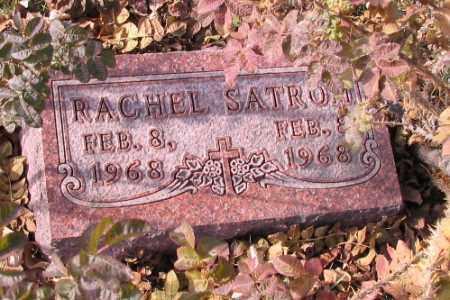 SATROM, RACHEL - Cass County, North Dakota | RACHEL SATROM - North Dakota Gravestone Photos