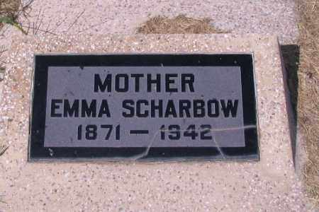 SCHARBOW, EMMA - Cass County, North Dakota | EMMA SCHARBOW - North Dakota Gravestone Photos