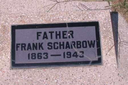SCHARBOW, FRANK - Cass County, North Dakota   FRANK SCHARBOW - North Dakota Gravestone Photos
