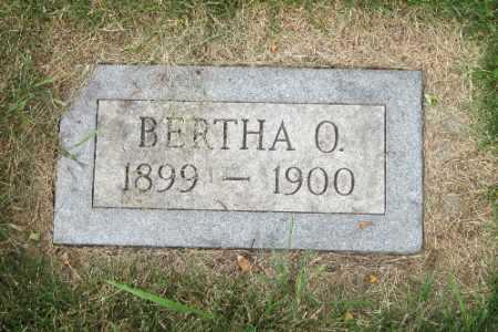SCHOBINGER, BERTHA O. - Cass County, North Dakota | BERTHA O. SCHOBINGER - North Dakota Gravestone Photos