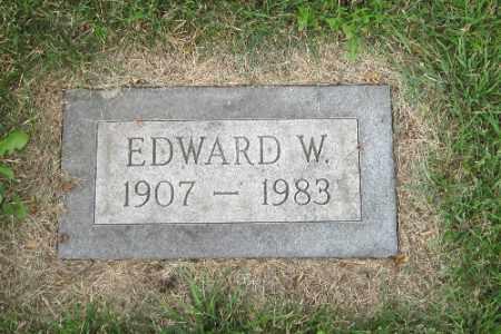 SCHOBINGER, EDWARD W. - Cass County, North Dakota | EDWARD W. SCHOBINGER - North Dakota Gravestone Photos