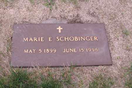 SCHOBINGER, MARIE E. - Cass County, North Dakota | MARIE E. SCHOBINGER - North Dakota Gravestone Photos