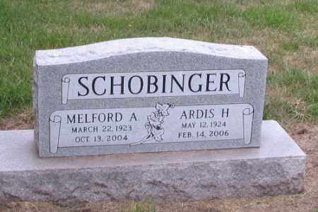 SCHOBINGER, ARDIS H. - Cass County, North Dakota | ARDIS H. SCHOBINGER - North Dakota Gravestone Photos