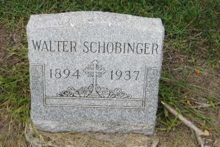 SCHOBINGER, WALTER - Cass County, North Dakota | WALTER SCHOBINGER - North Dakota Gravestone Photos