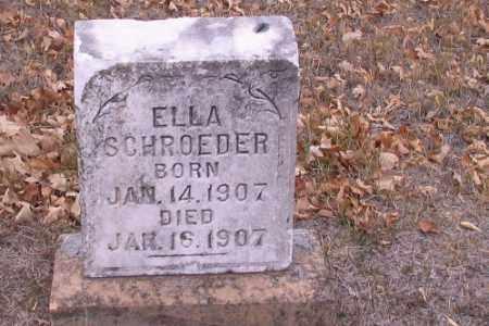 SCHROEDER, ELLA - Cass County, North Dakota | ELLA SCHROEDER - North Dakota Gravestone Photos