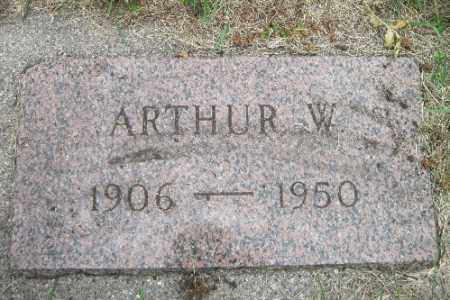 SCHULTZ, ARTHUR W. - Cass County, North Dakota | ARTHUR W. SCHULTZ - North Dakota Gravestone Photos
