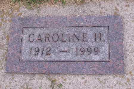 SCHULTZ, CAROLINE H. - Cass County, North Dakota   CAROLINE H. SCHULTZ - North Dakota Gravestone Photos