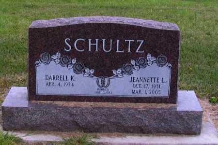SCHULTZ, JEANNTTE L. - Cass County, North Dakota   JEANNTTE L. SCHULTZ - North Dakota Gravestone Photos