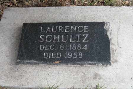 SCHULTZ, LAURENCE - Cass County, North Dakota | LAURENCE SCHULTZ - North Dakota Gravestone Photos