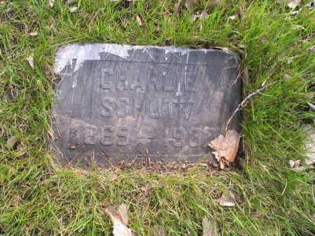 SCHUTT, CHARLES - Cass County, North Dakota | CHARLES SCHUTT - North Dakota Gravestone Photos
