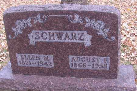 SCHWARZ, AUGUST F. - Cass County, North Dakota | AUGUST F. SCHWARZ - North Dakota Gravestone Photos