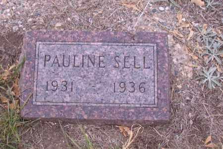 SELL, PAULINE - Cass County, North Dakota | PAULINE SELL - North Dakota Gravestone Photos