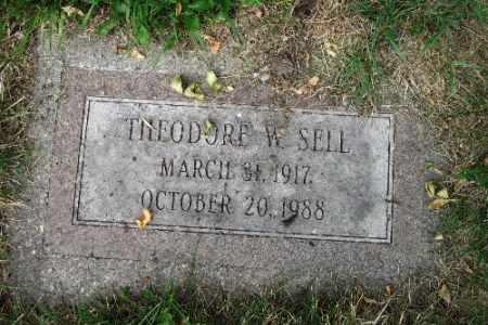 SELL, THEODORE W. - Cass County, North Dakota | THEODORE W. SELL - North Dakota Gravestone Photos