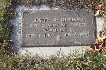 SHERMAN, JOSEPH A. - Cass County, North Dakota   JOSEPH A. SHERMAN - North Dakota Gravestone Photos