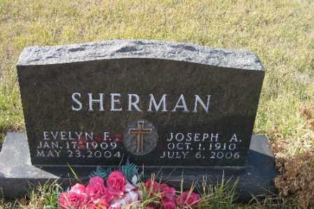 SHERMAN, JOSEPH A. - Cass County, North Dakota | JOSEPH A. SHERMAN - North Dakota Gravestone Photos