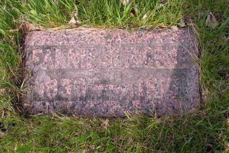 SLINGSBY, FANNIE - Cass County, North Dakota   FANNIE SLINGSBY - North Dakota Gravestone Photos