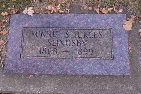 SLINGSBY, MINNIE - Cass County, North Dakota | MINNIE SLINGSBY - North Dakota Gravestone Photos