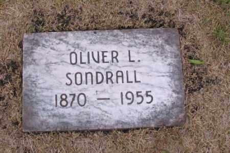 SONDRALL, OLIVER L. - Cass County, North Dakota   OLIVER L. SONDRALL - North Dakota Gravestone Photos