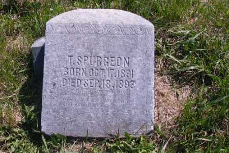 SPURGEON, T. (HEATH) - Cass County, North Dakota | T. (HEATH) SPURGEON - North Dakota Gravestone Photos