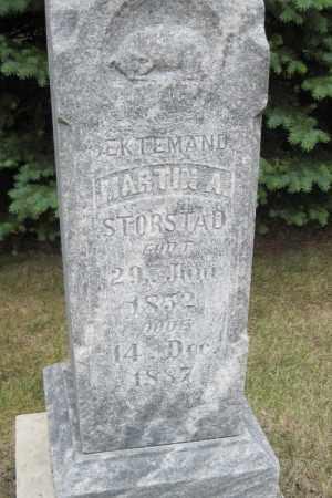 STORSTAD, MARTIN A. - Cass County, North Dakota   MARTIN A. STORSTAD - North Dakota Gravestone Photos