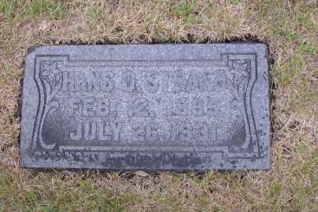 STRAND, HANS O. - Cass County, North Dakota   HANS O. STRAND - North Dakota Gravestone Photos