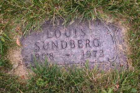 SUNDBERG, LOUIS - Cass County, North Dakota   LOUIS SUNDBERG - North Dakota Gravestone Photos