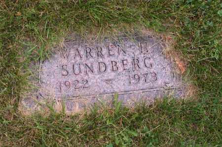 SUNDBERG, WARREN H. - Cass County, North Dakota   WARREN H. SUNDBERG - North Dakota Gravestone Photos