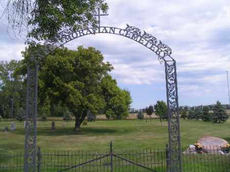 TABOR MORAVIAN CEMETERY, GATE - Cass County, North Dakota | GATE TABOR MORAVIAN CEMETERY - North Dakota Gravestone Photos