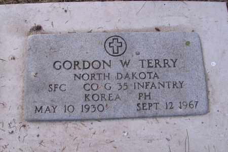TERRY, GORDON W. - Cass County, North Dakota | GORDON W. TERRY - North Dakota Gravestone Photos