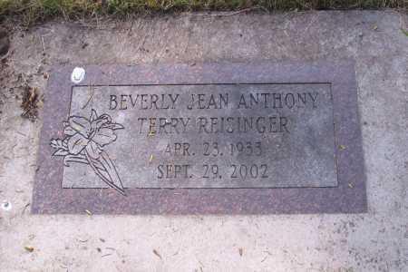 TERRY, REISINGER, BEVERLY JEAN - Cass County, North Dakota | BEVERLY JEAN TERRY, REISINGER - North Dakota Gravestone Photos