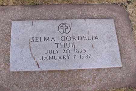 THUE, SELMA CORDELIA - Cass County, North Dakota | SELMA CORDELIA THUE - North Dakota Gravestone Photos