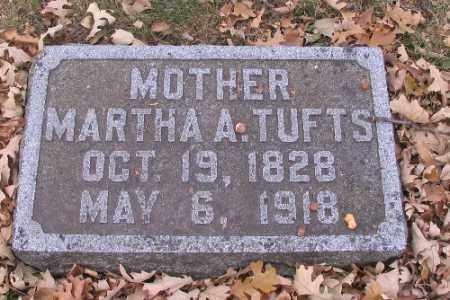 TUFTS, MARTHA A. - Cass County, North Dakota | MARTHA A. TUFTS - North Dakota Gravestone Photos