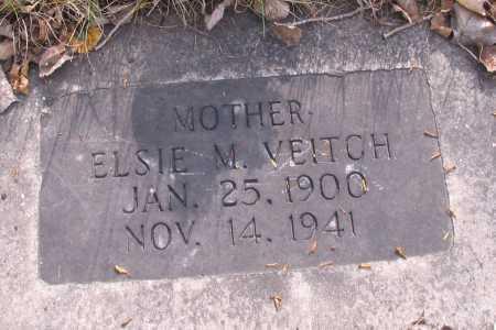 VEITCH, ELSIE M. - Cass County, North Dakota | ELSIE M. VEITCH - North Dakota Gravestone Photos