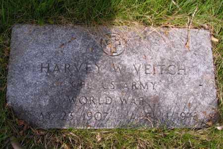 VEITCH, HARVEY W. - Cass County, North Dakota | HARVEY W. VEITCH - North Dakota Gravestone Photos