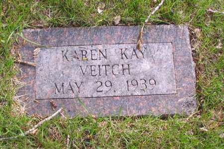 VEITCH, KAREN KAY - Cass County, North Dakota | KAREN KAY VEITCH - North Dakota Gravestone Photos