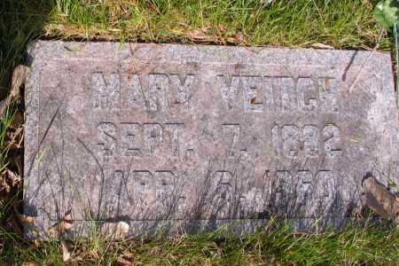 VEITCH, MARY - Cass County, North Dakota | MARY VEITCH - North Dakota Gravestone Photos